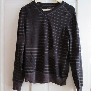 G By Guess Men's Long-Sleeve V Neck Sweater